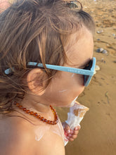 Load image into Gallery viewer, Sustainable Kids Sunglasses - Light Blue