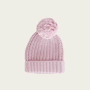 Cosy Hat - Old Rose