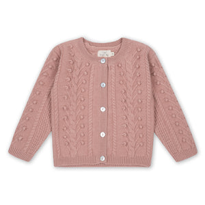 SILYA CARDIGAN - ROSE BLUSH