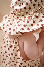 Load image into Gallery viewer, ACACIA BABY SUNHAT - POPPY FLOWER