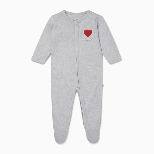 Nap Time Zip-Up Sleepsuit