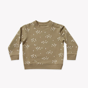 Fleece Sweatshirt | olive