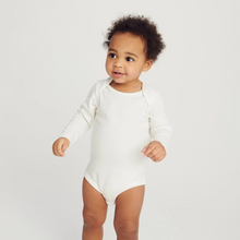 Load image into Gallery viewer, Long sleeve bodysuit - Grey (4423078248510)