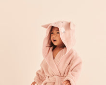 Load image into Gallery viewer, Bunny Hooded Bath Robe