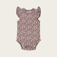Load image into Gallery viewer, Organic Cotton Frill Singlet Bodysuit - Lily of the Valley