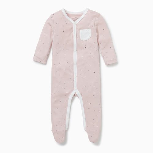 Front-Opening Sleepsuit - Stardust