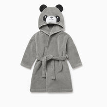 Load image into Gallery viewer, Panda Hooded Bath Robe