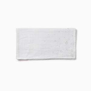 Pre-Washed Large Muslin Swaddle - White