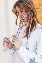 Load image into Gallery viewer, Boho & Braided Mask in Mushroom