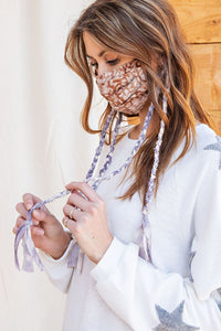 Boho & Braided Mask in Mushroom