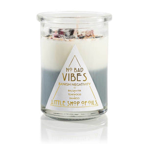 No Bad Vibes Candle
