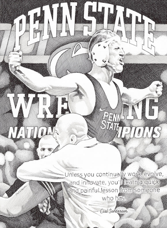 Bo Nickal and Cael Sanderson - Penn State Wrestling
