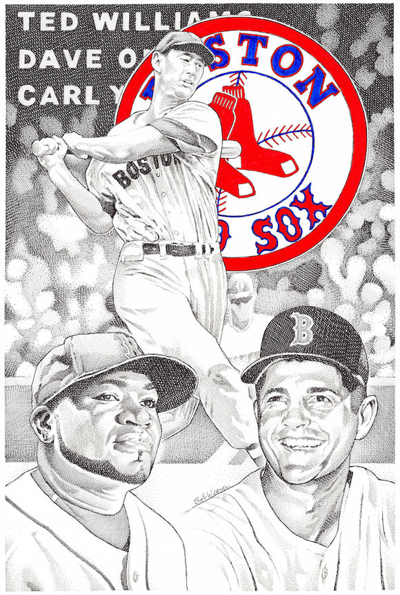 Boston Red Sox Collage