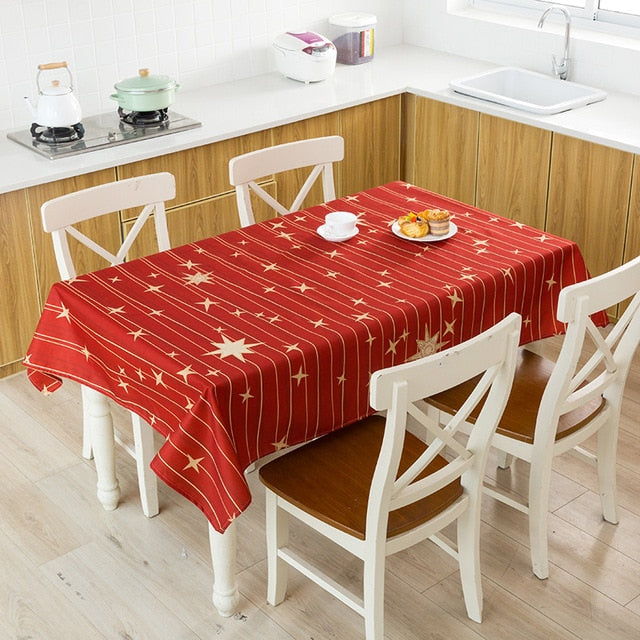 Aldorina Cristmas Tablecloth