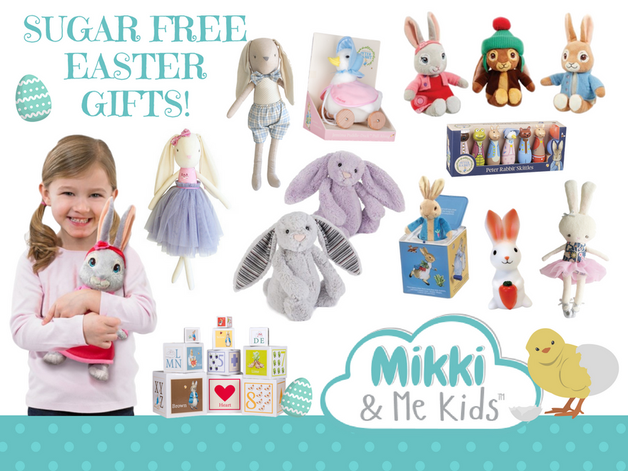 Sugar free gift ideas this easter mikki me kids sugar free gift ideas this easter negle Gallery