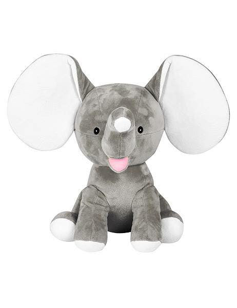 Grey Dumble Elephant Cubbie - Mikki & Me Kids