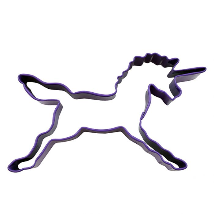 Unicorn Cookie Cutter Purple - Mikki & Me Kids