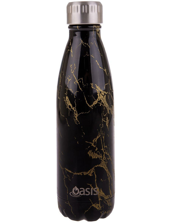 OASIS Stainless Steel Insulated Drink Bottle - Gold Onyx 500ml