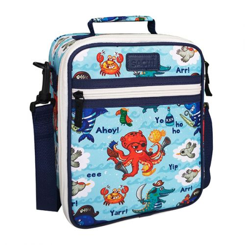 Sachi Insulated Junior Lunch Tote - Pirates Bay