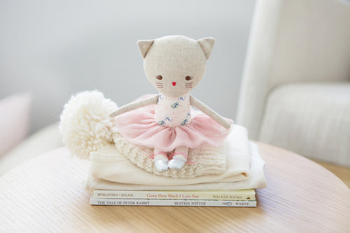 Odette Kitty Ballerina - Blush - Mikki & Me Kids
