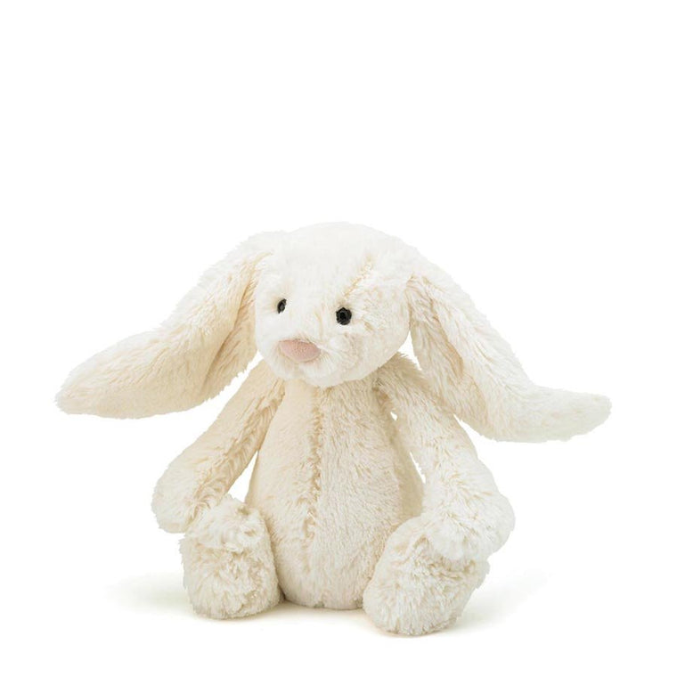 Bashful Cream Bunny Medium - Mikki & Me Kids