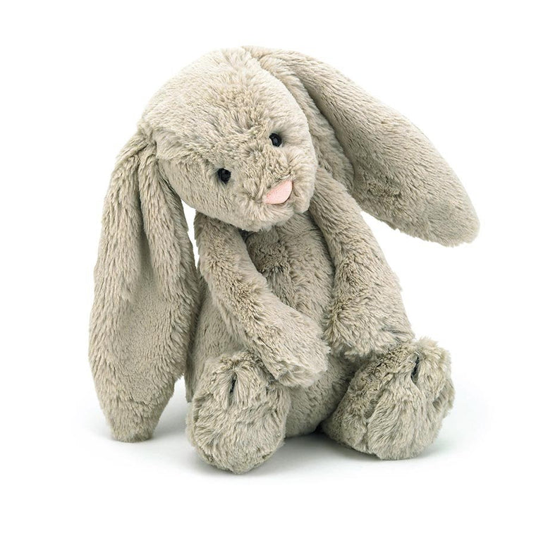 Bashful Beige Bunny Medium - Mikki & Me Kids