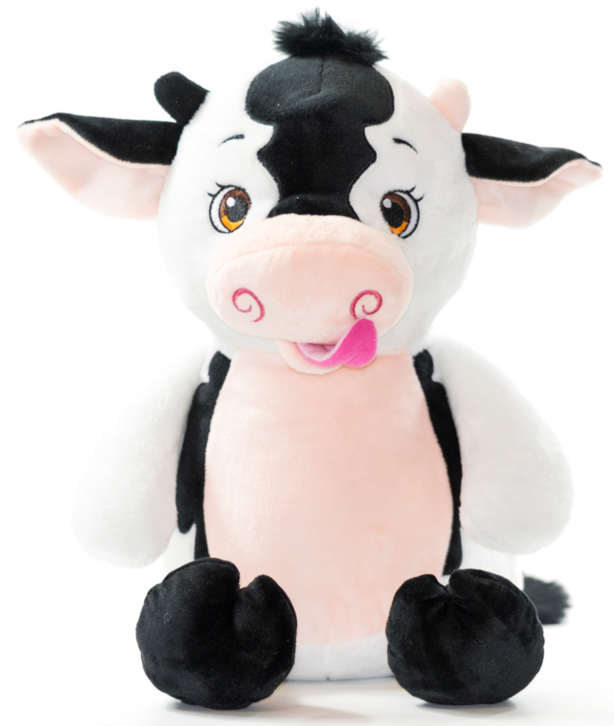 Personalised Cow Cubbie - Mikki & Me Kids