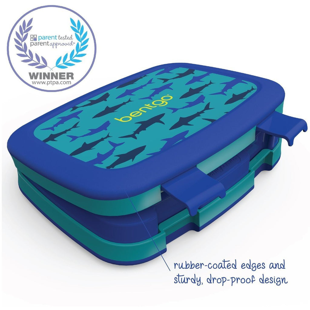 BENTGO KIDS PATTERNED LUNCH BOX - Shark