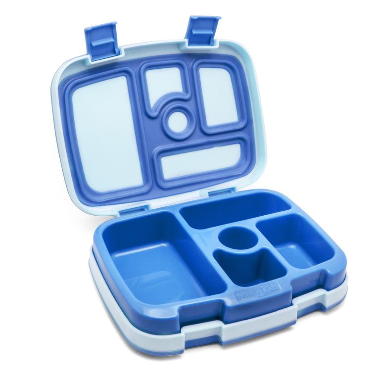 BENTGO KIDS LUNCH BOX - BLUE - Mikki & Me Kids