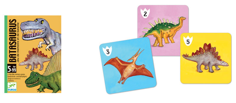 Batasaurus Card Game - Mikki & Me Kids