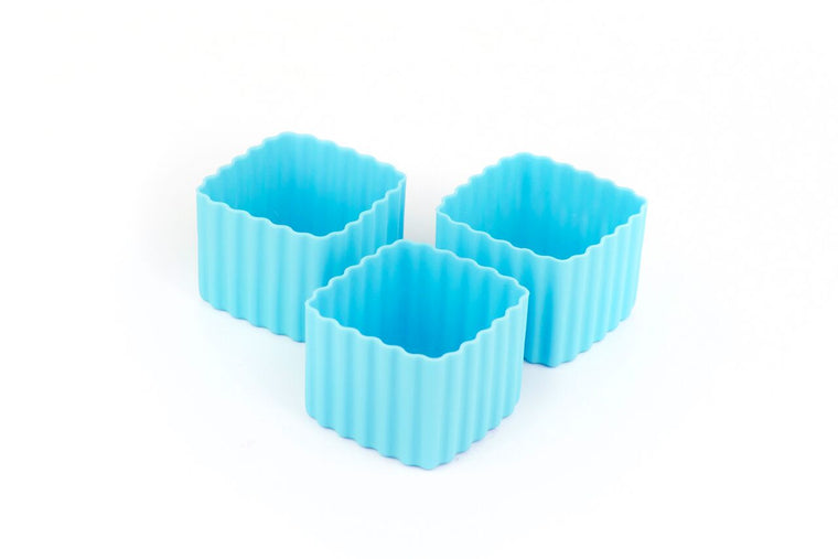 BENTO CUPS SQUARE – LIGHT BLUE - Mikki & Me Kids