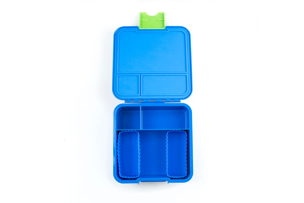 BENTO CUPS RECTANGLE – BLUE - Mikki & Me Kids