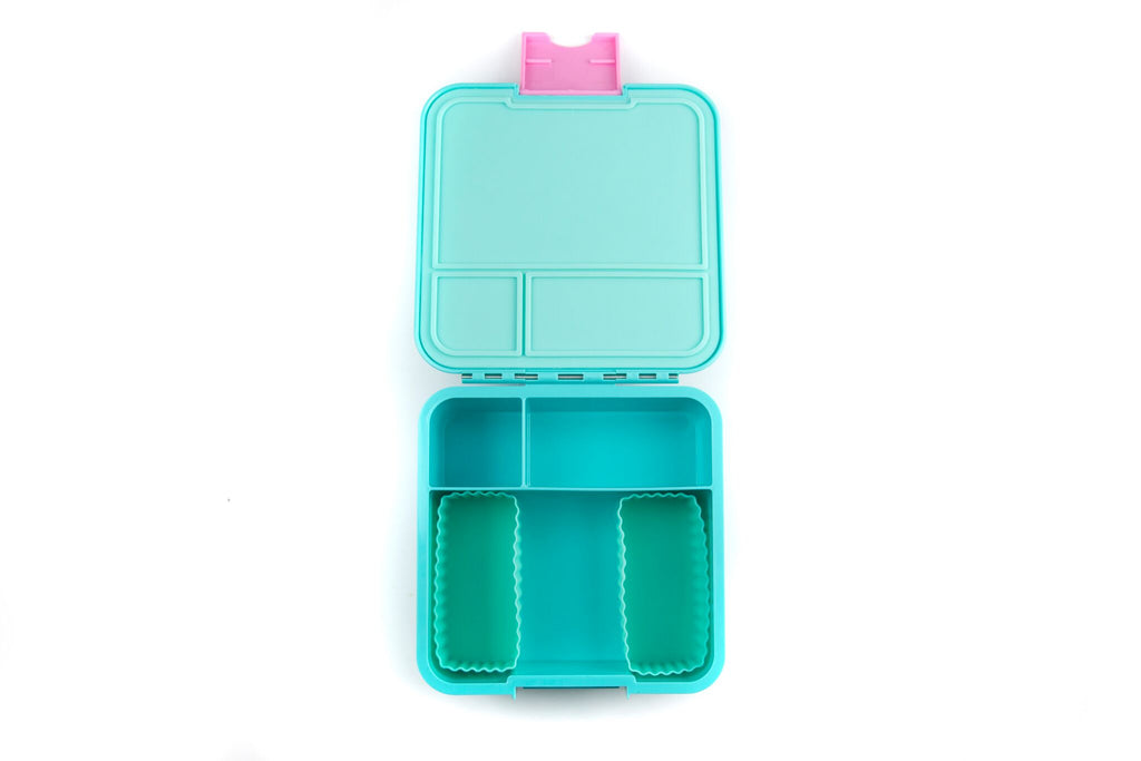BENTO CUPS RECTANGLE – MINT - Mikki & Me Kids