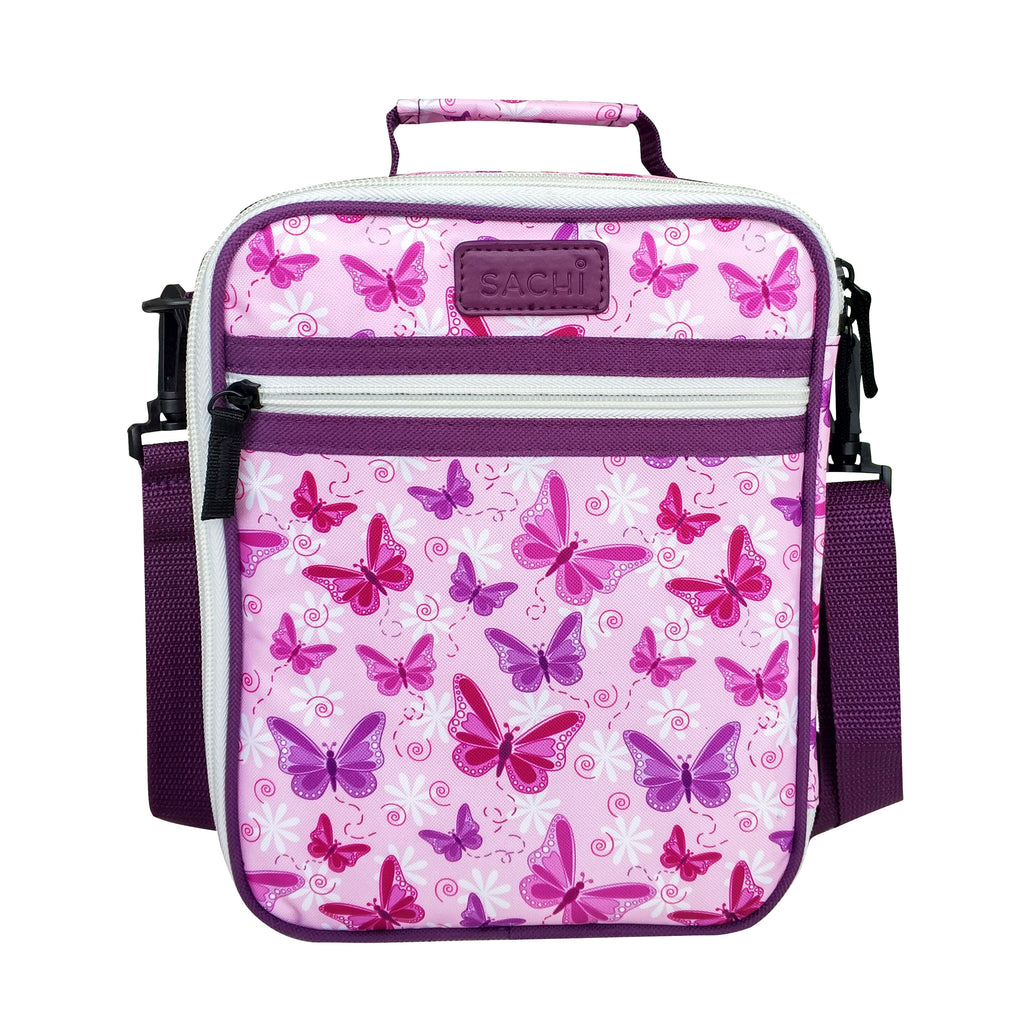 Sachi Insulated Junior Lunch Tote - Butterflies - Mikki & Me Kids
