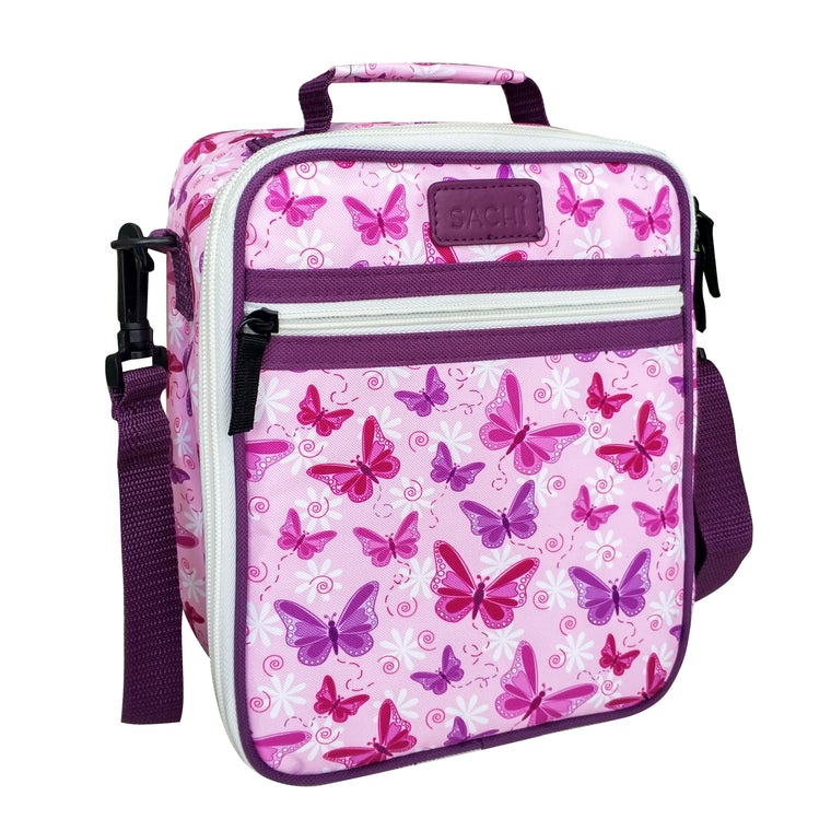Sachi Insulated Junior Lunch Tote - Butterflies