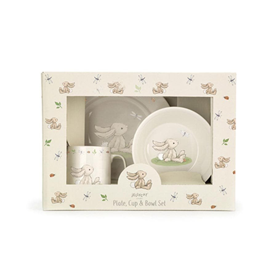 Jellycat Bashful Bunny China Dinnerset