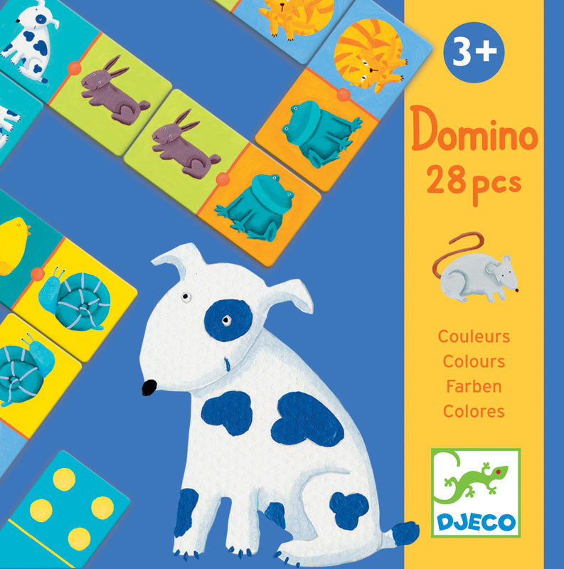 Colour Animals Domino - Mikki & Me Kids