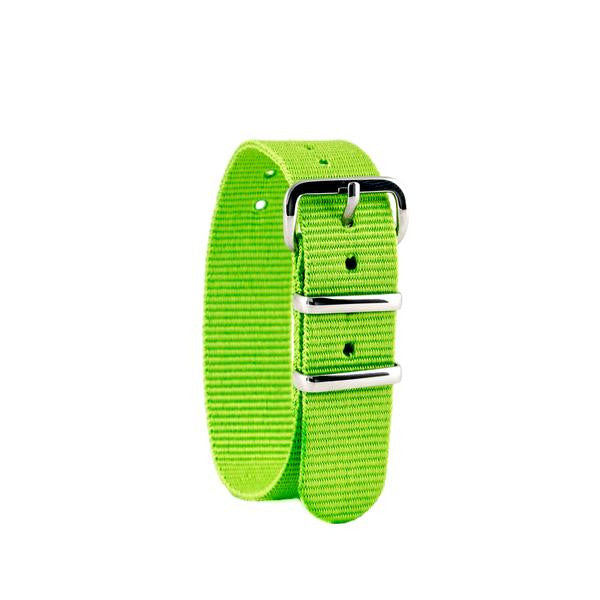 Lime Green Watch Strap - Mikki & Me Kids