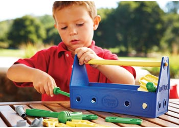 Green Toys – Tool Set – Blue - Mikki & Me Kids