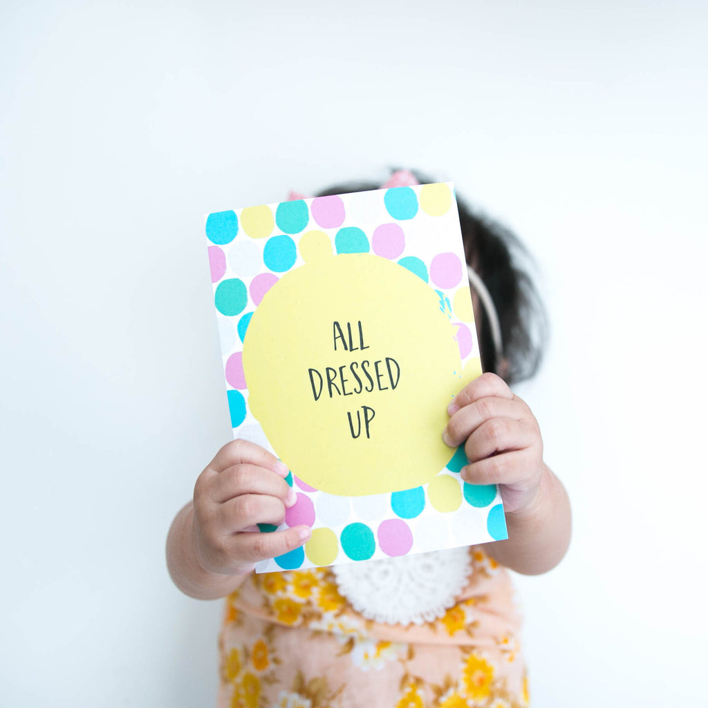 Along Came A Baby - Milestone Cards - Mikki & Me Kids
