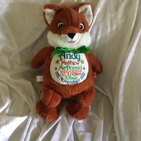 Signature Fox Cubbie - Mikki & Me Kids