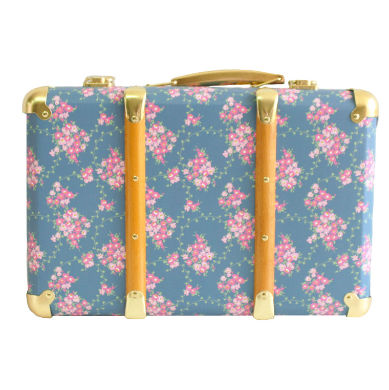 VINTAGE STYLE CARRY CASE - WILDLFLOWER - Mikki & Me Kids