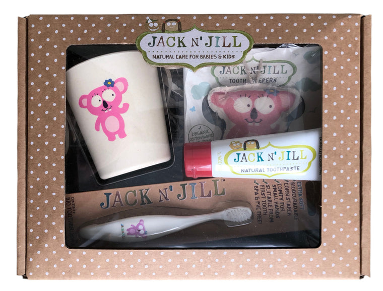 Jack & Jill Oral Care Gift Set - Koala - Mikki & Me Kids