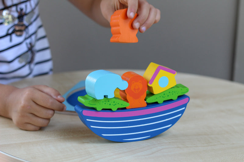 Chunky Ark Wooden Puzzle - Mikki & Me Kids