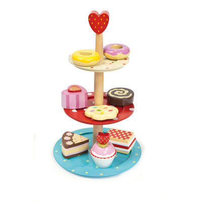 Le Toy Van Honeybake Cake Stand Set - Mikki & Me Kids