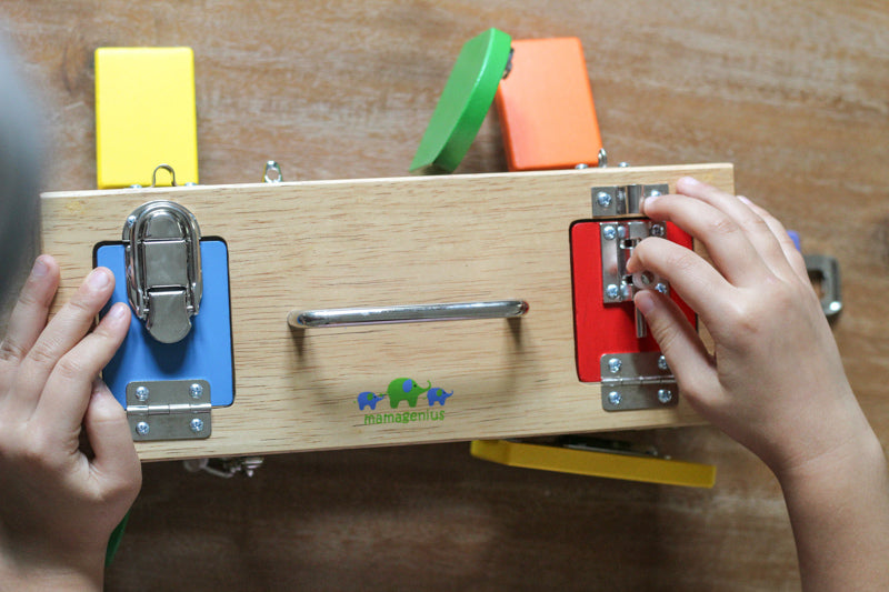 Original Lock Activity Box - Mikki & Me Kids