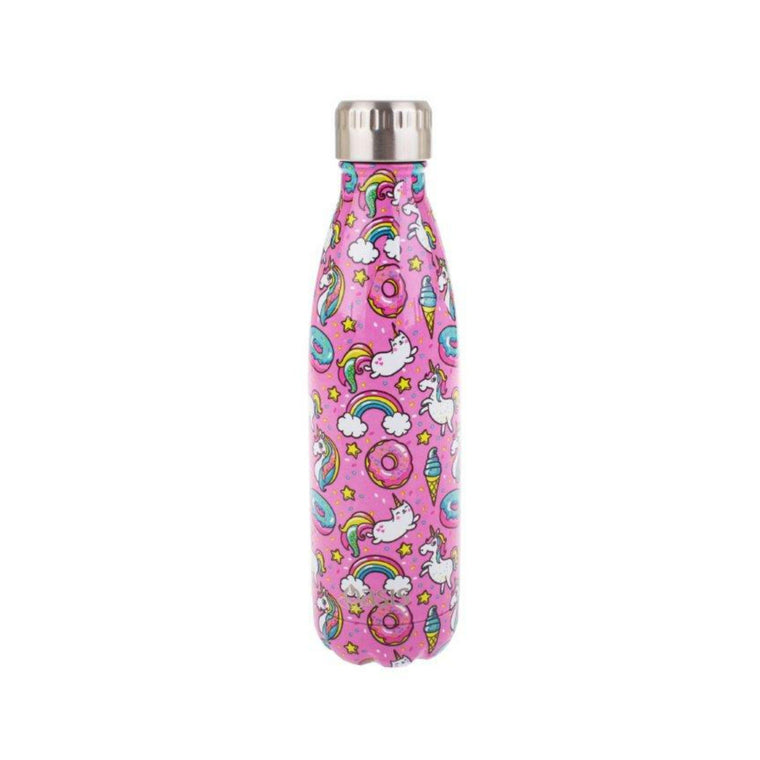 OASIS Stainless Steel Insulated Drink Bottle - Unicorn 500ml - Mikki & Me Kids