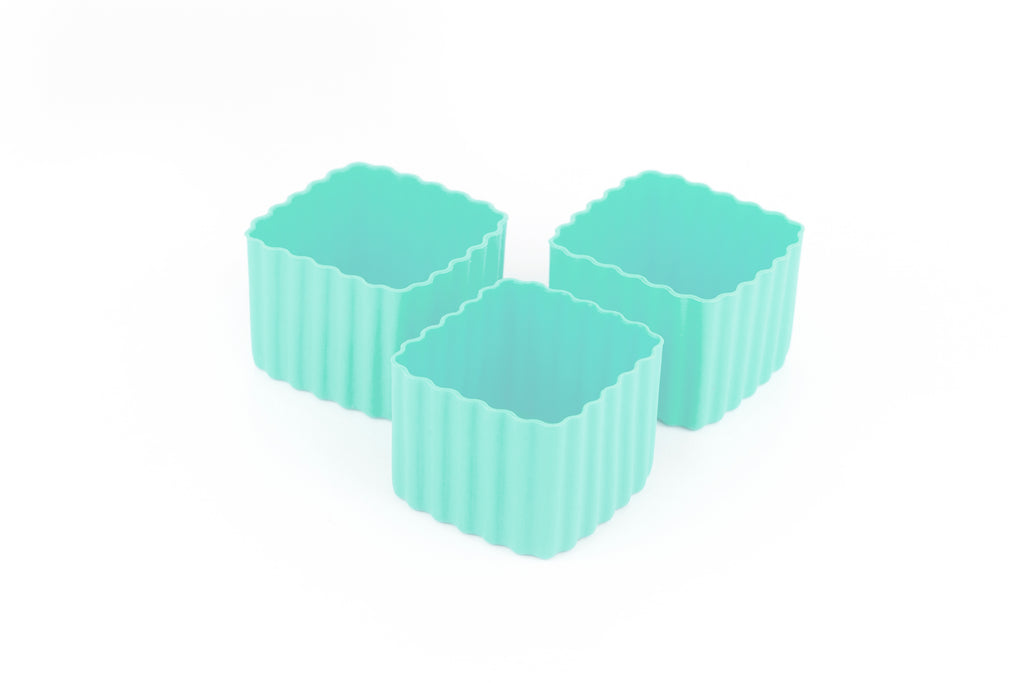 BENTO CUPS SQUARE – Mint - Mikki & Me Kids