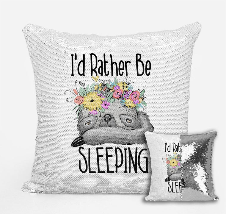 Sleepy Sloth - Personalised Cushion Cover - Mikki & Me Kids