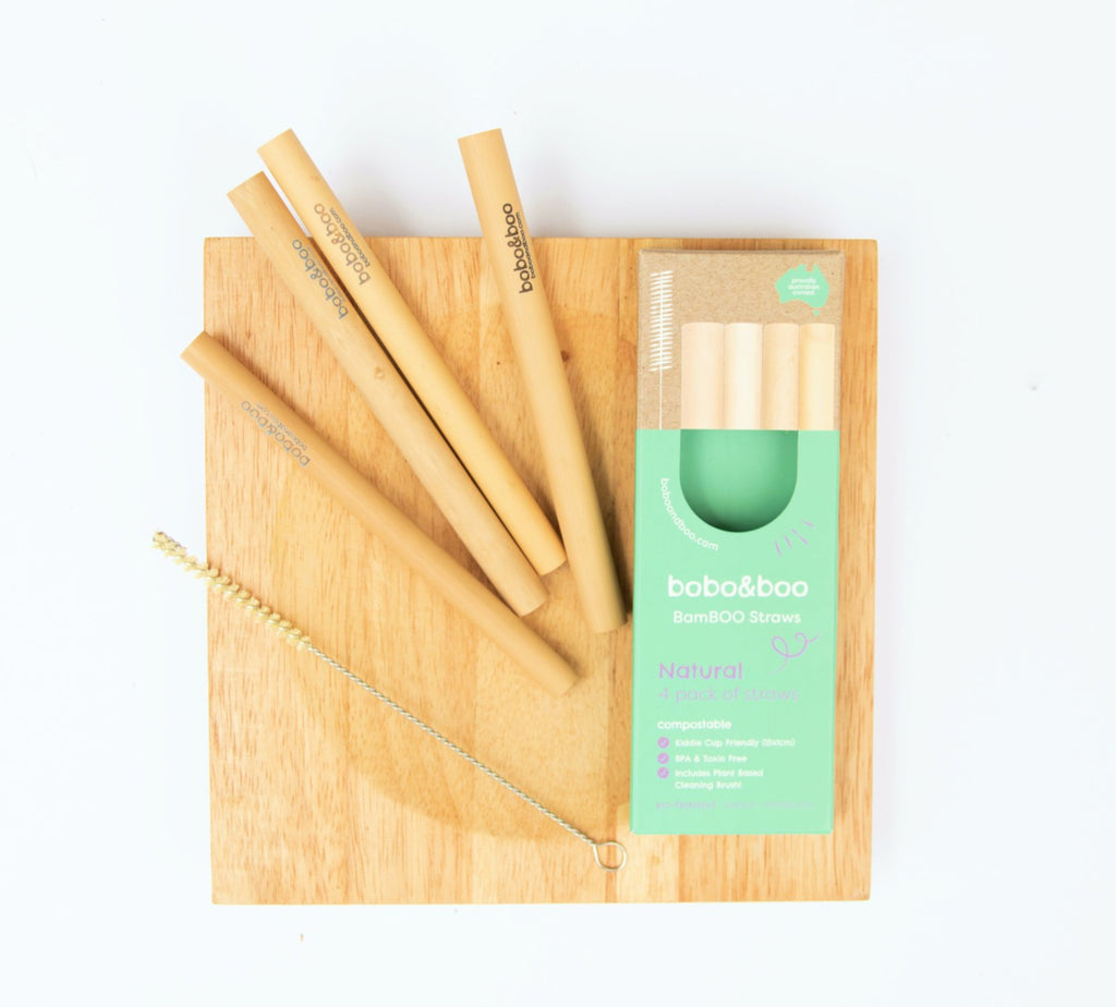 BamBOO Reusable Straws - Mikki & Me Kids